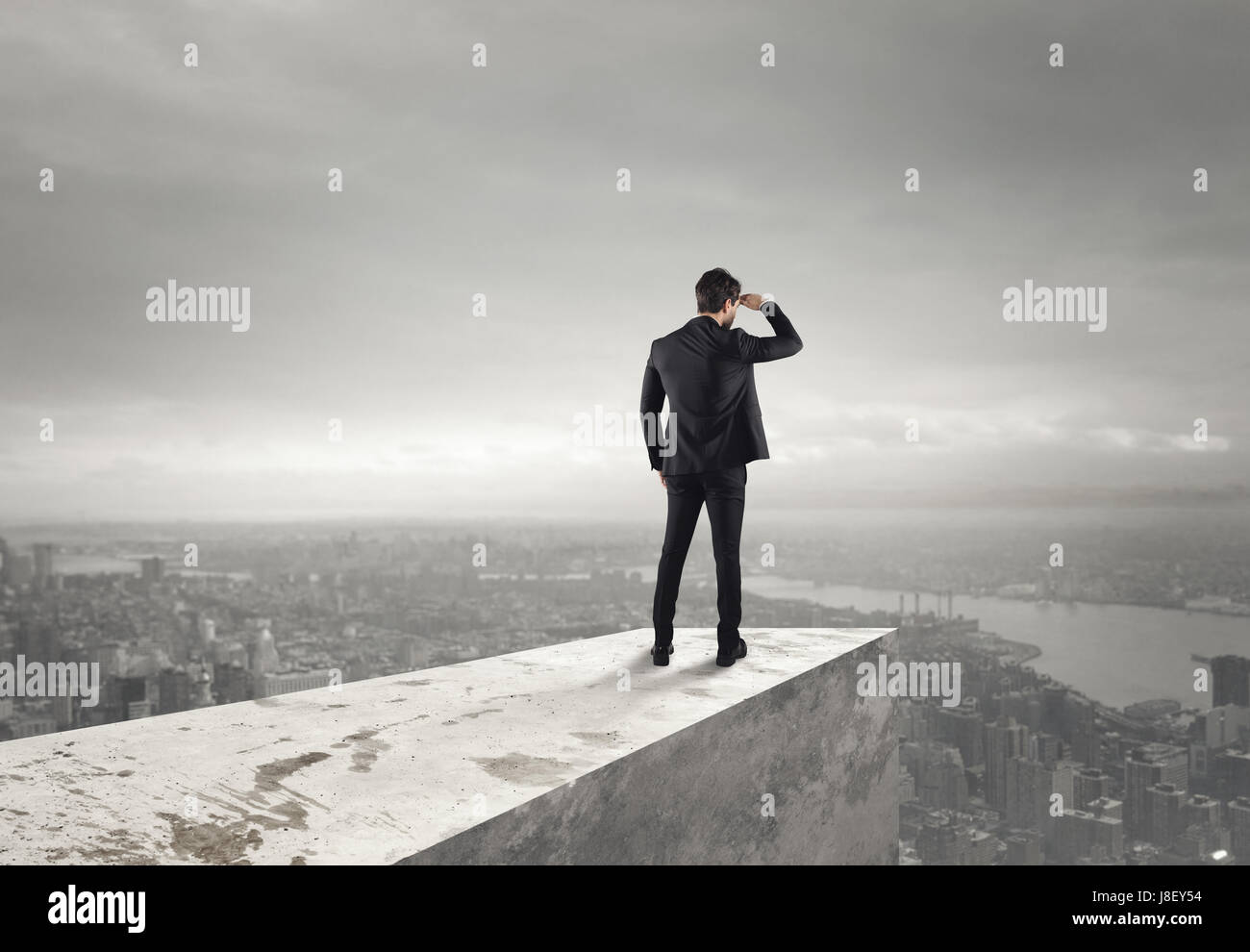 Look to the future - Stock Image