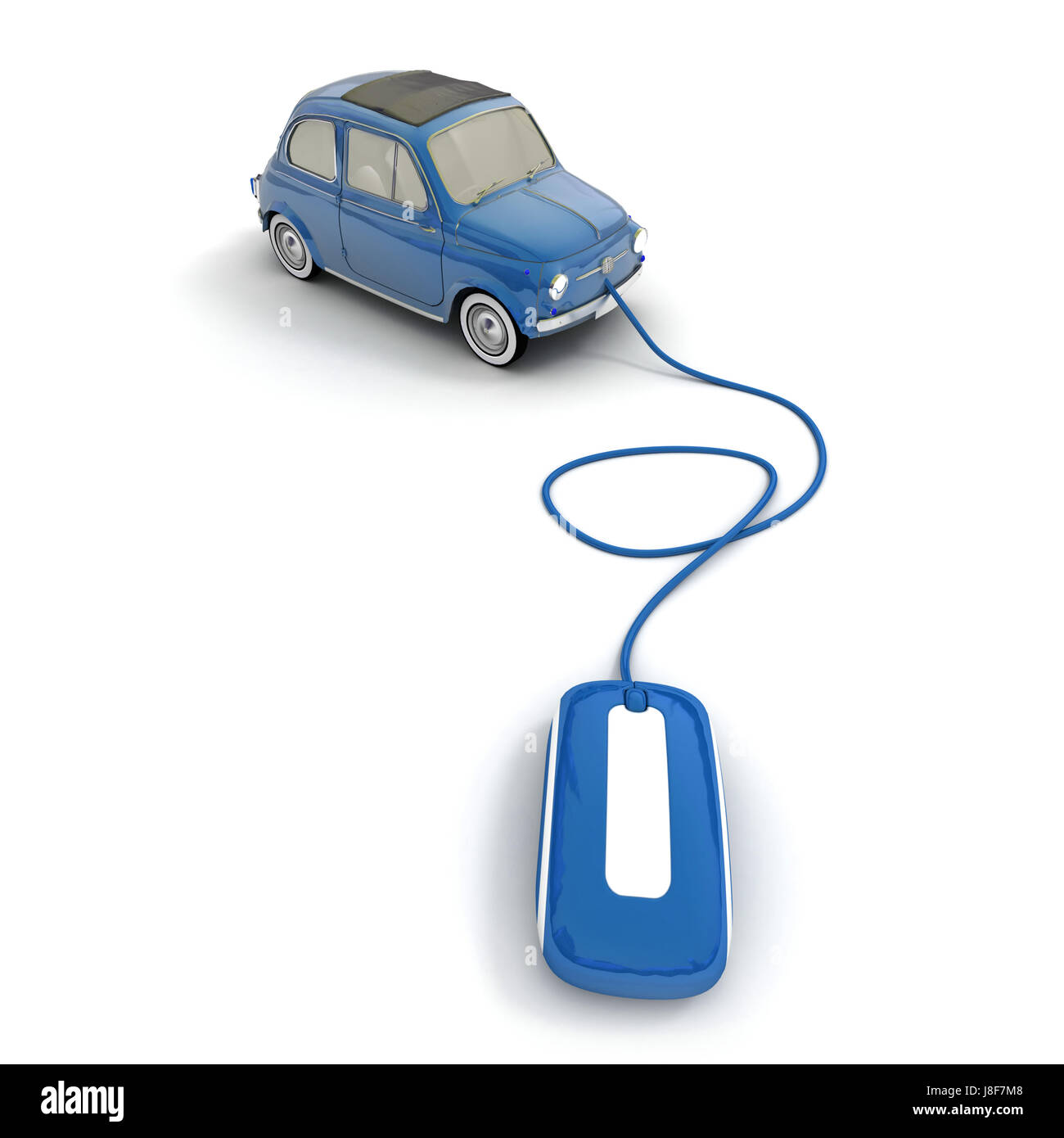 blue sell car automobile vehicle means of travel motor vehicle