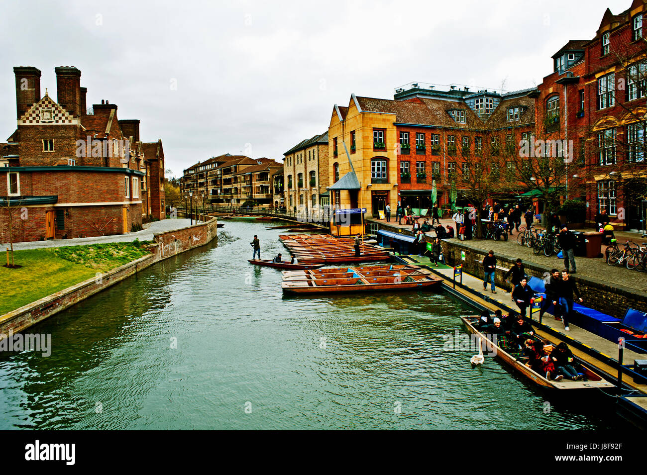 Cambridge, England - Stock Image