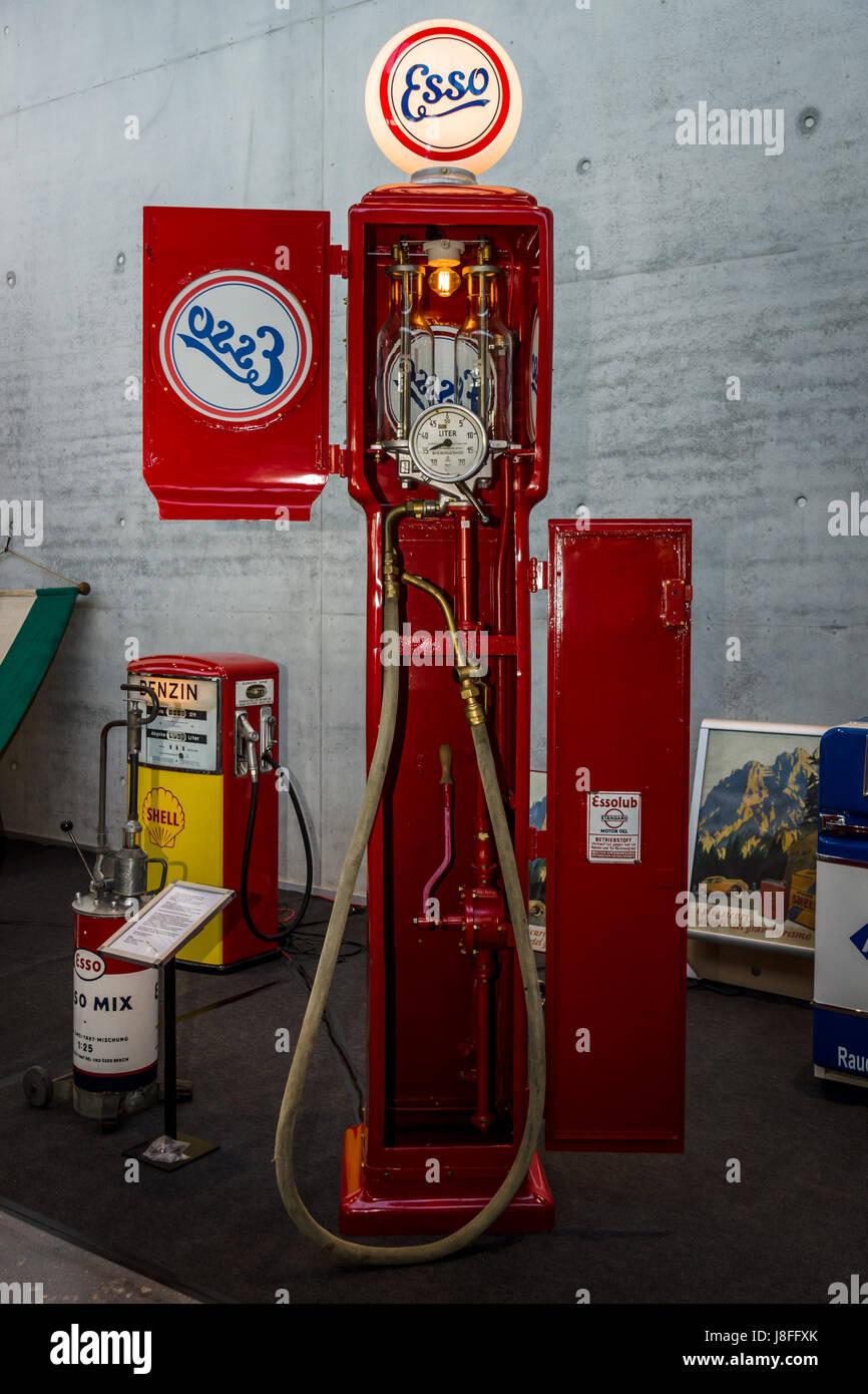 Retro fuel dispenser by ESSO  Manufacturer Koerting Hannover