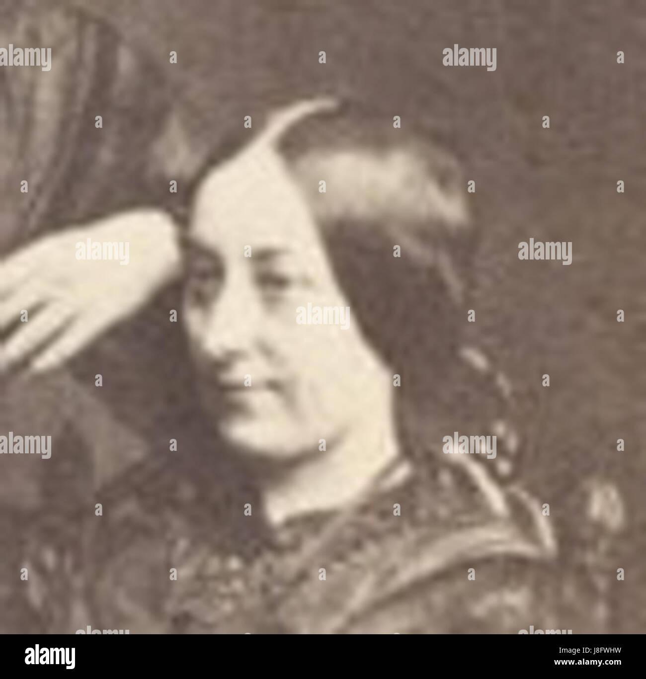 Frances Ternan Became Trollope Sisters Crop Of A Carte D Visite Maria Ellen And