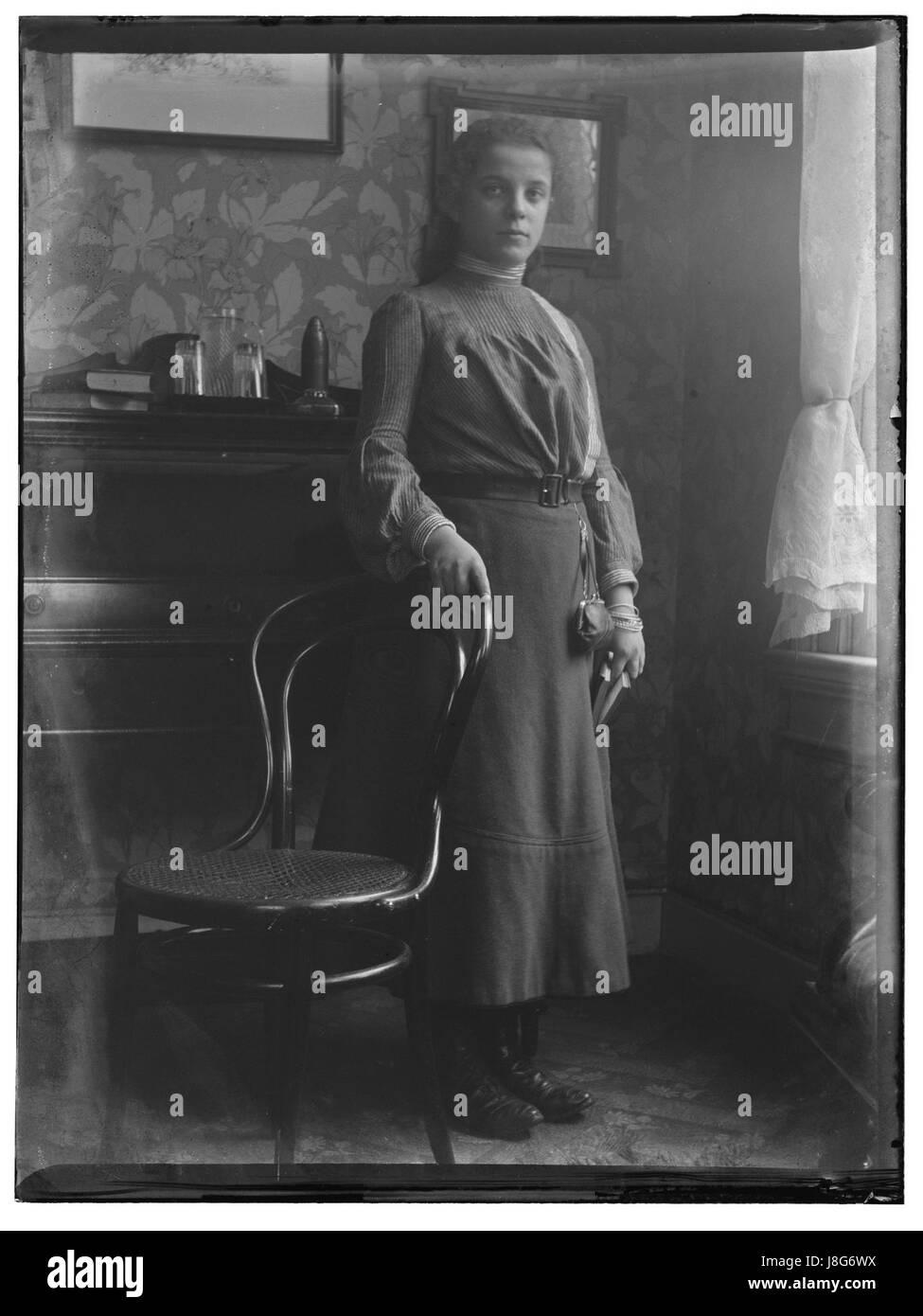 Mej Emmy Tiggelaar (max res) - Stock Image