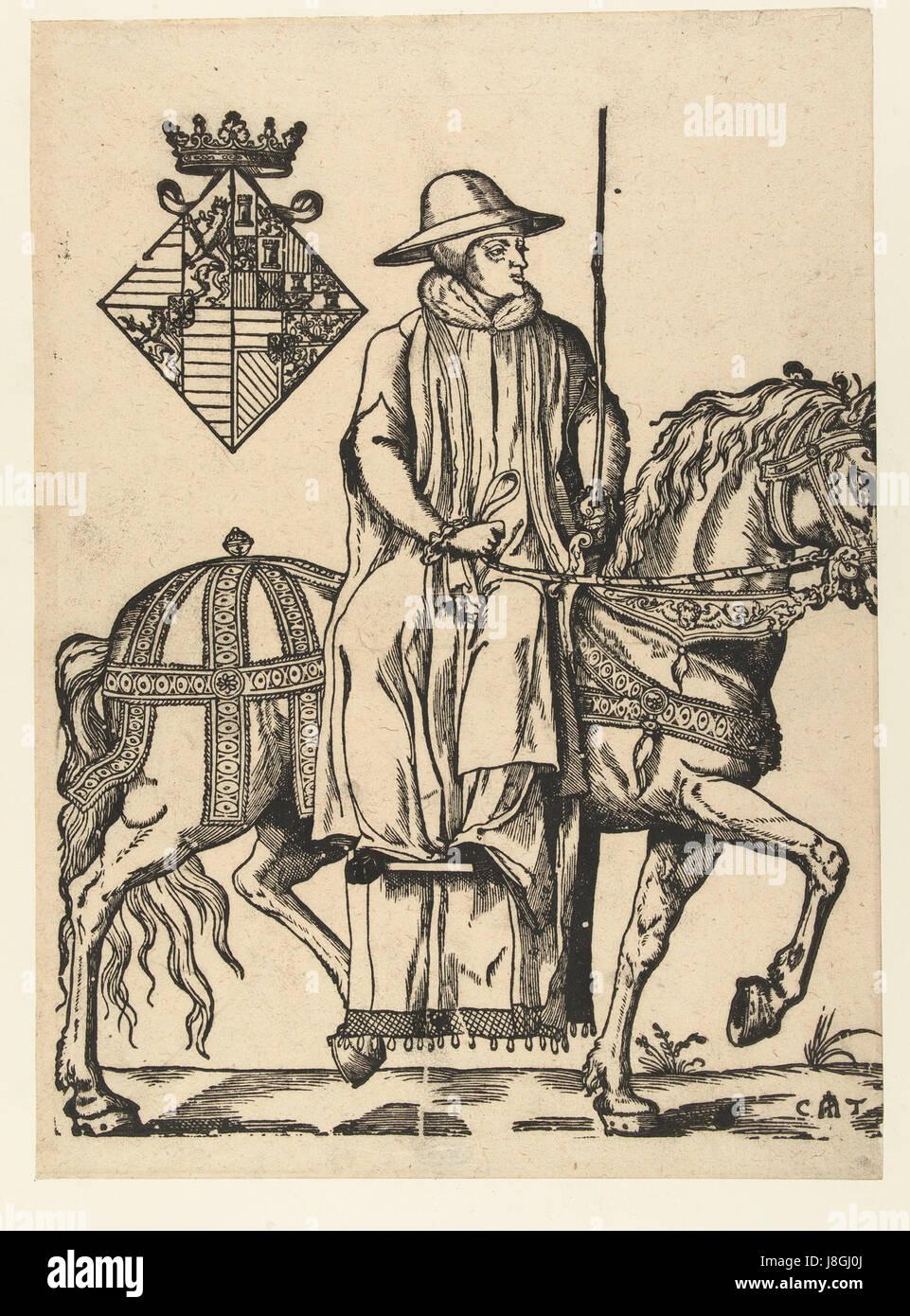 Marie de hongrie par Cornelis Anthonisz2.jsp - Stock Image