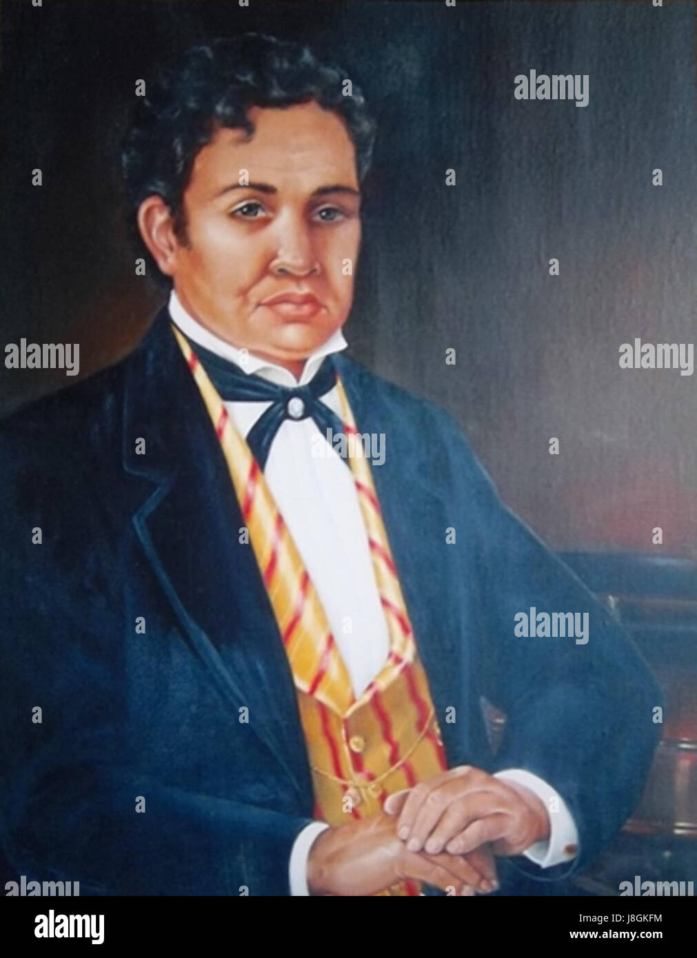 Gideon Peleioholani Laanui - Stock Image