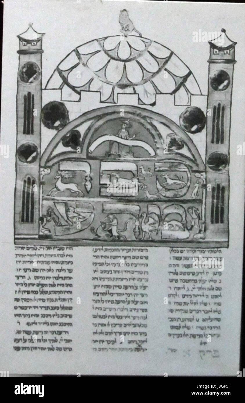 Mishneh Torah, manuscript - Stock Image
