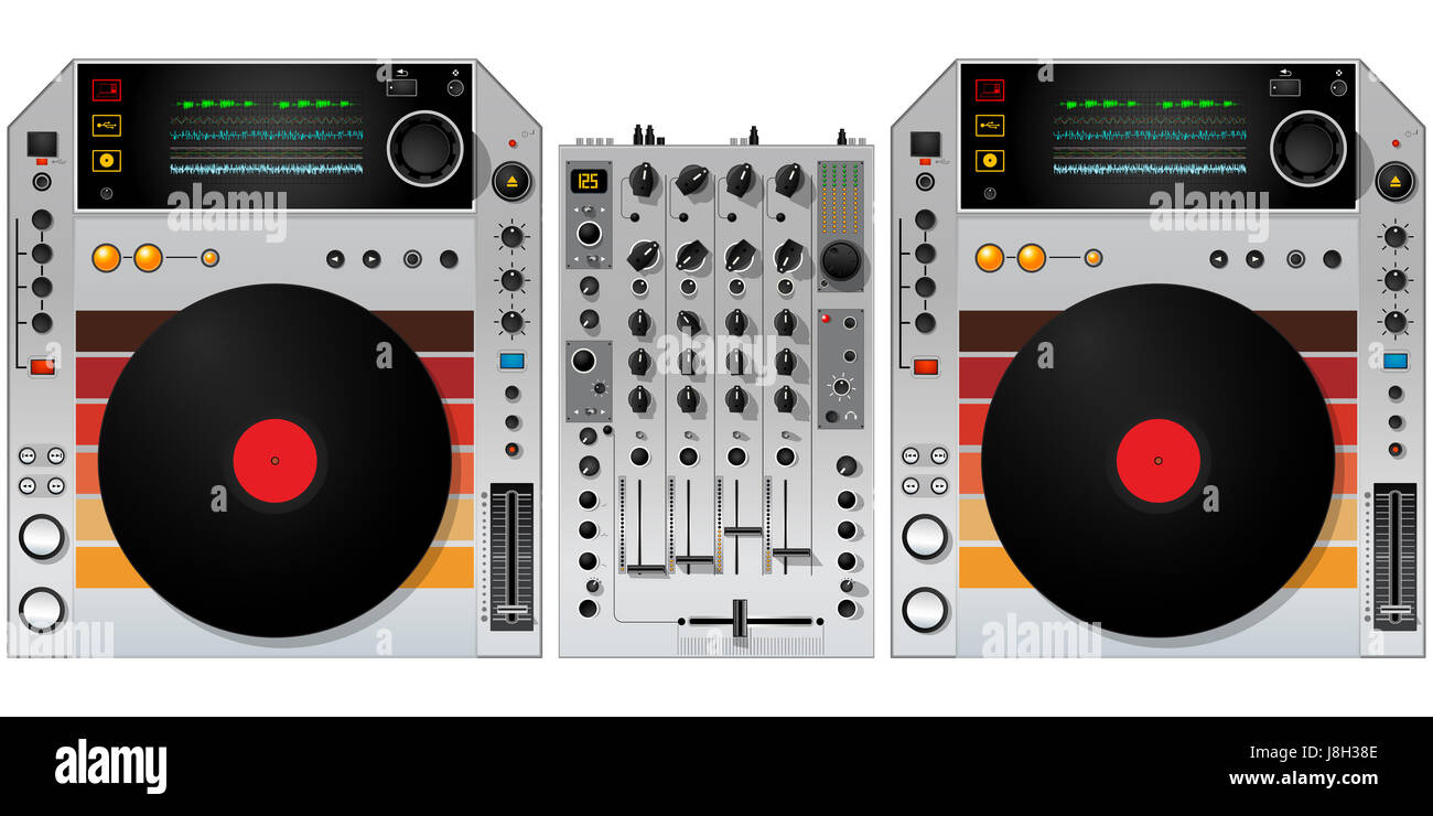 Object Music Sound Vintage Dj Wallpaper Mixer Wave Object