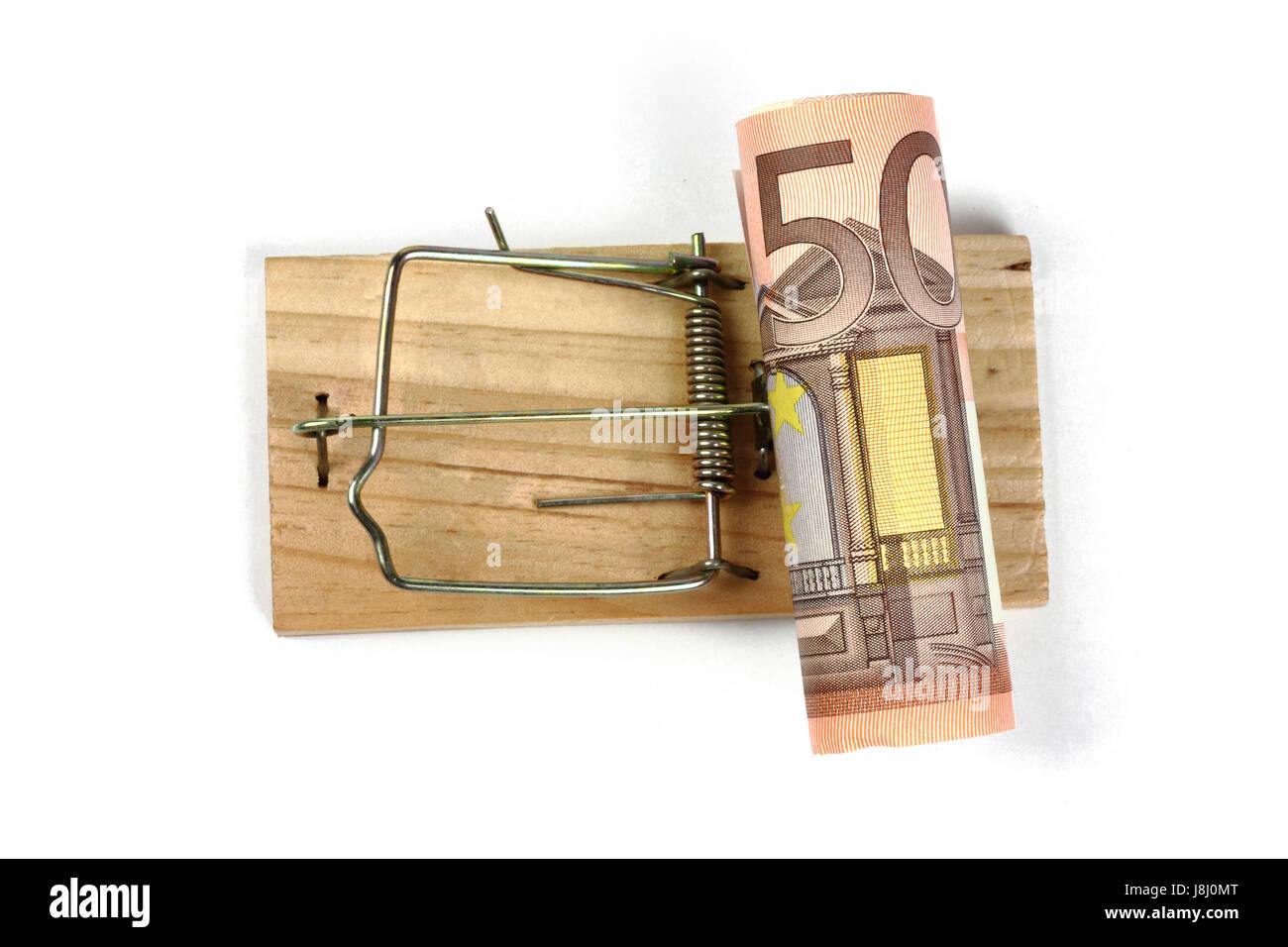 cost trap Stock Photo