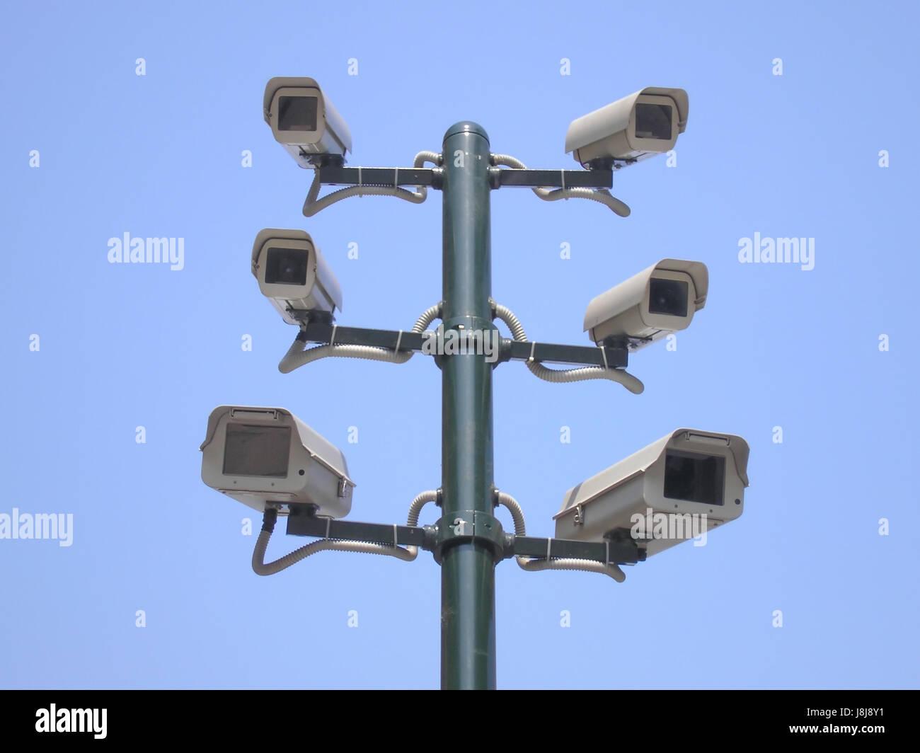 photo, camera, closed, circuit, privacy, cam, burglary, fine, traffic, - Stock Image