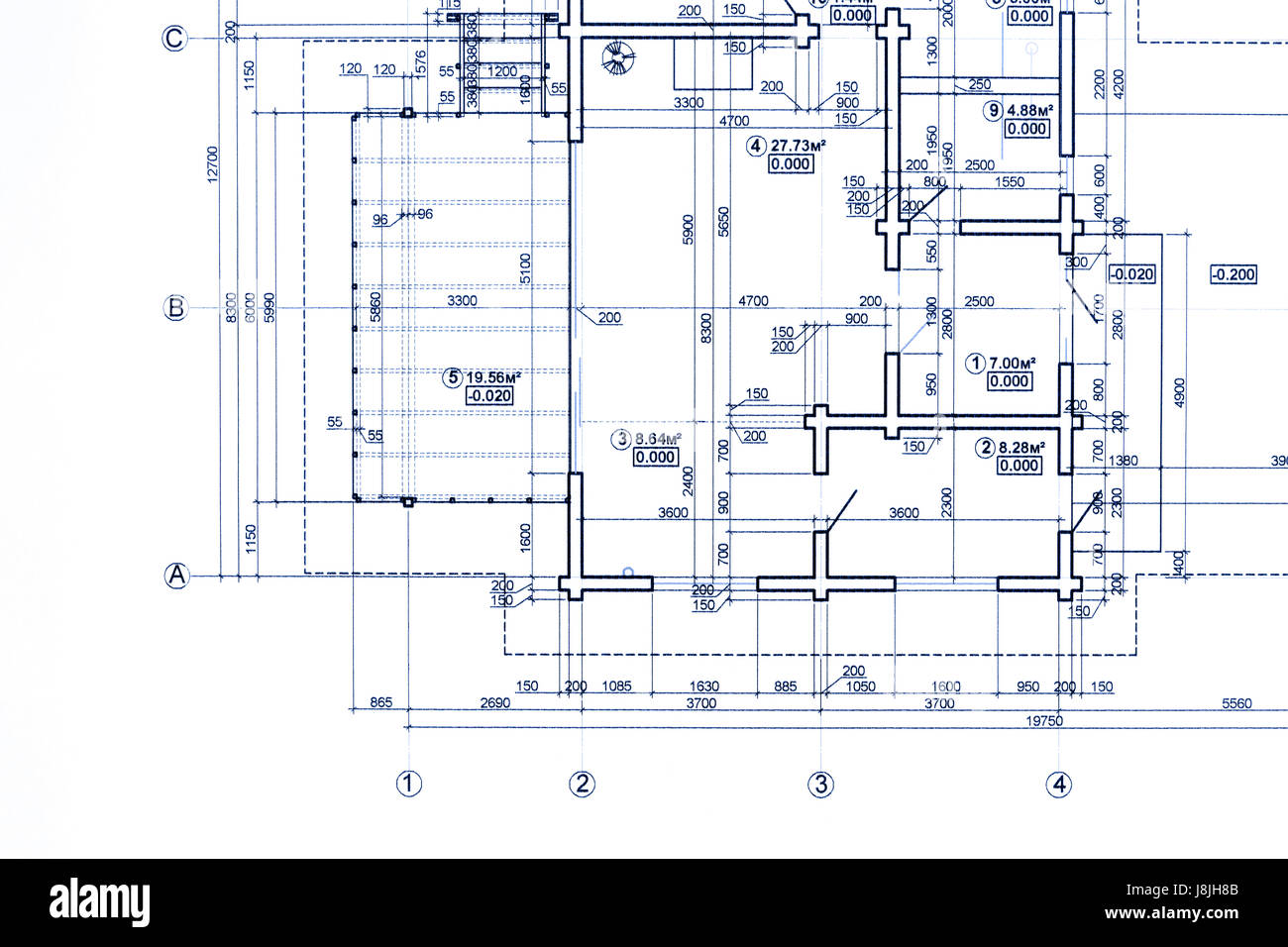 Part of blueprint floor plan technical drawing background stock part of blueprint floor plan technical drawing background malvernweather Image collections