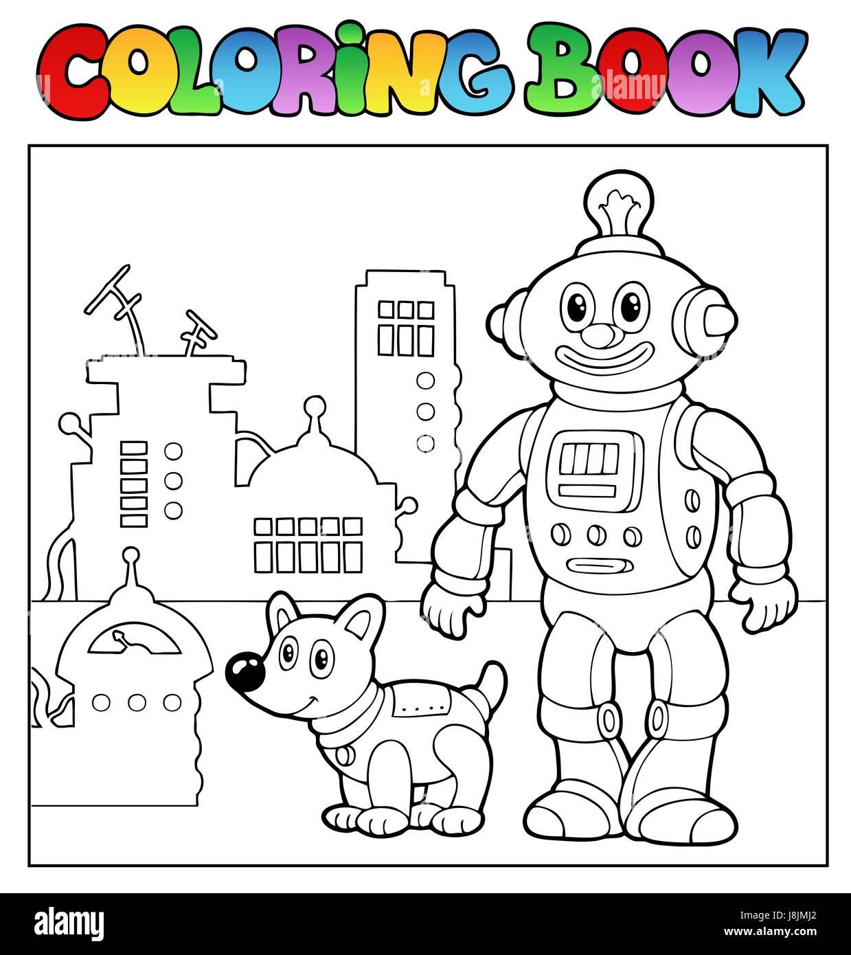 Colour Paint Painted Colouring Robot Automatic Machine Machine Stock Photo Alamy