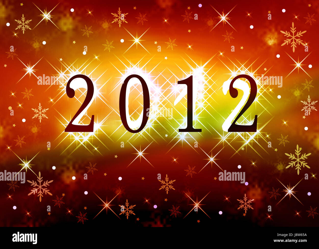 magical card new year wishes desires stars asterisks shine shines