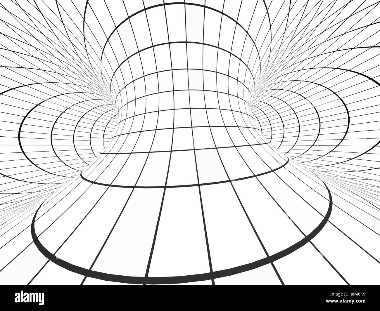 helix loop black and white stock photos images alamy  abstract illusion black and white background with tube shape with checkered pattern 3d