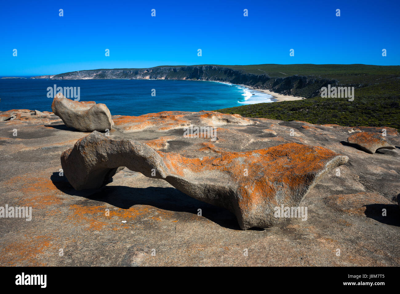 Remarkable Rocks, Flinders Chase National Park, Kangaroo Island, South Australia. - Stock Image