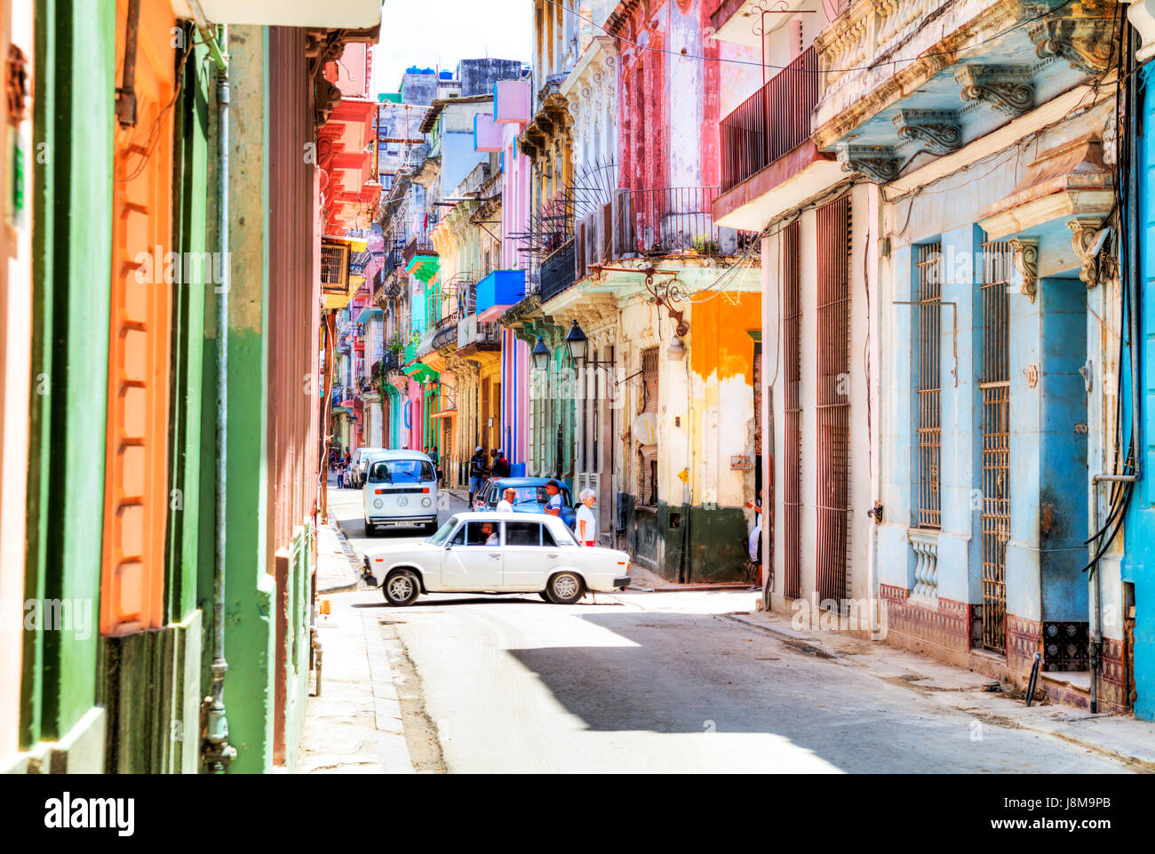 Colourful buildings on street in havana city cuba cuban homes colourful buildings on street in havana city cuba cuban homes havana homes old havana habana vieja la habana cuba cuban stopboris Image collections