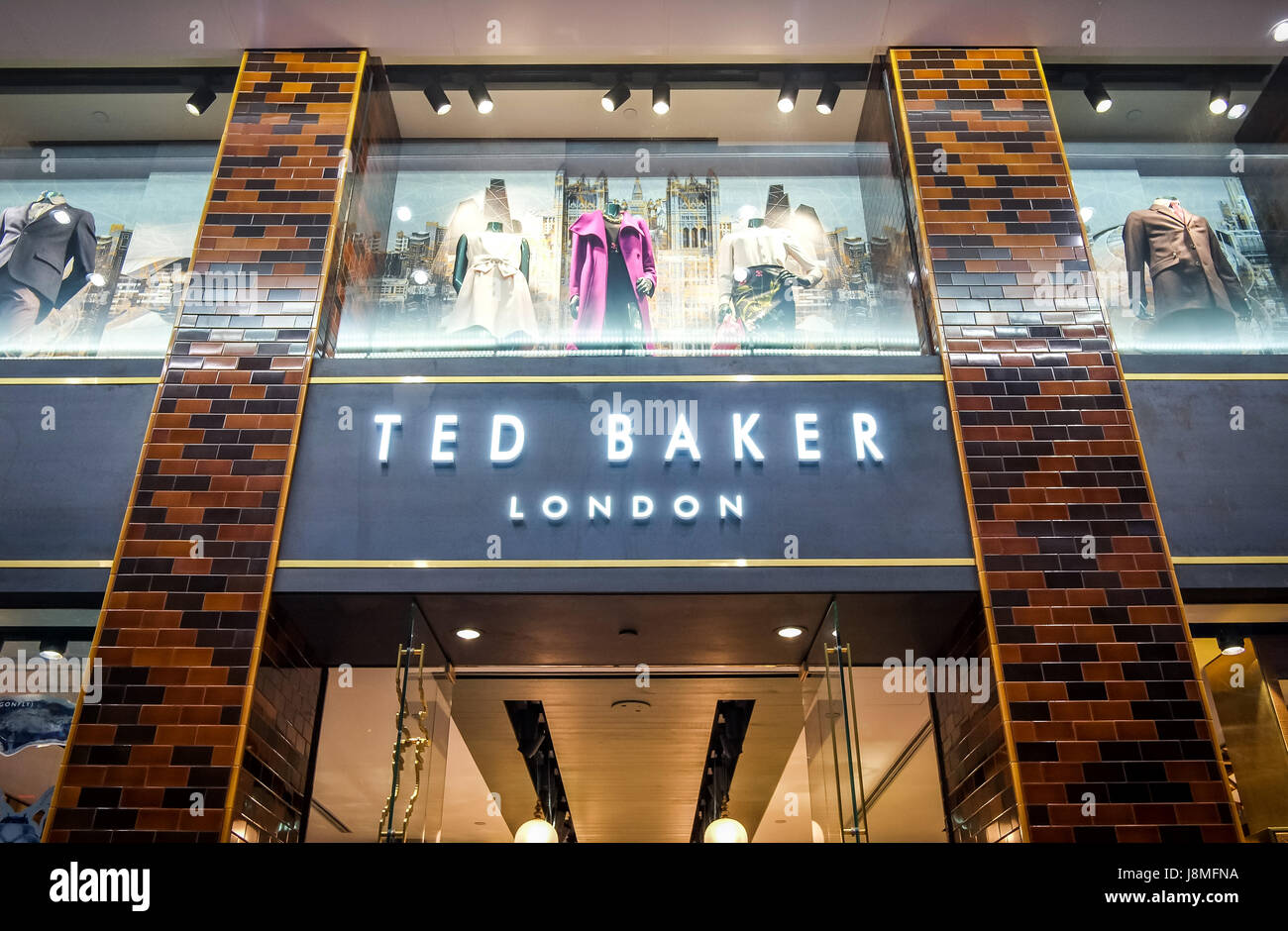 7128ea11b Ted Baker of London s flagship store on Paterson St