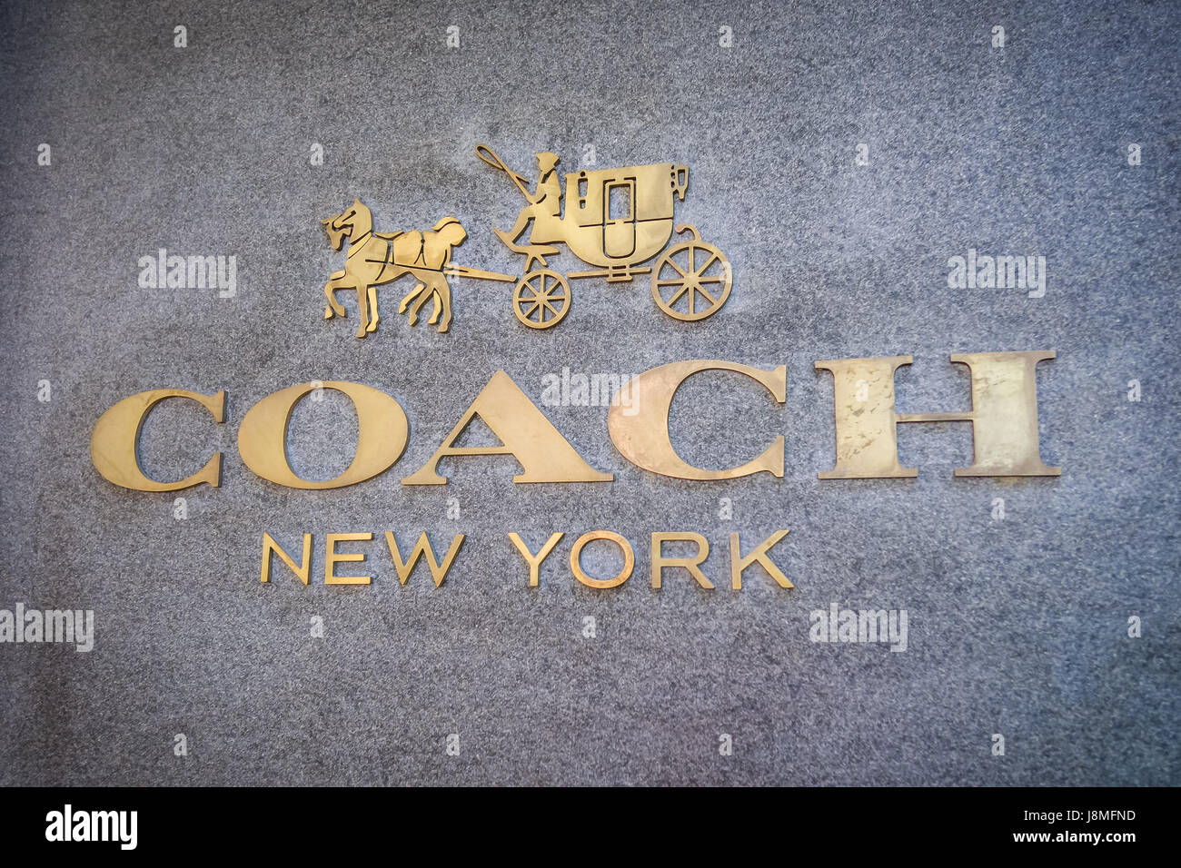Coach's flagship store Causeway Bay Hong Kong - Stock Image