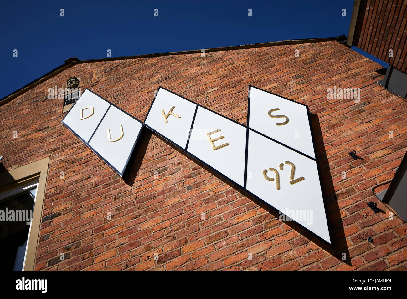 Dukes 92 landmark pub in   Castlefield named after lock on  Rochdale Canal, Gtr Manchester, UK. - Stock Image