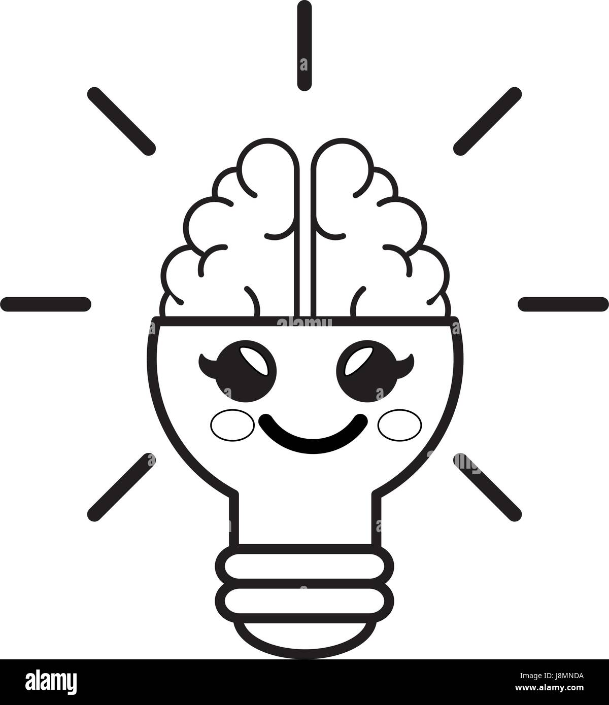 Bulb Cartoon Stock Photos Amp Bulb Cartoon Stock Images Alamy