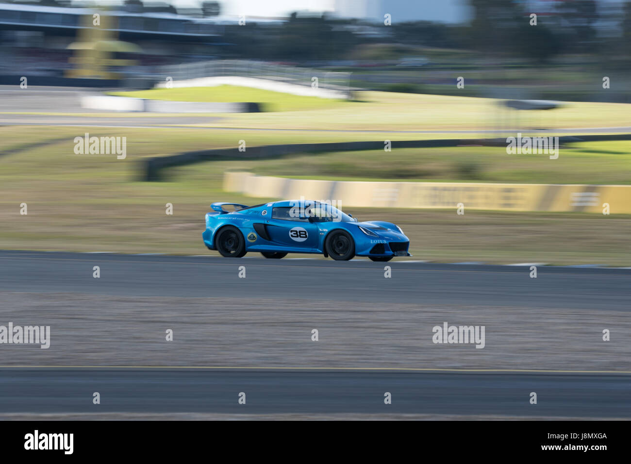 Sydney Motorsport Park, Australia. 28th May 2017.  LD Medisofts Lotus. Anthony Bolack/Alamy Live News - Stock Image