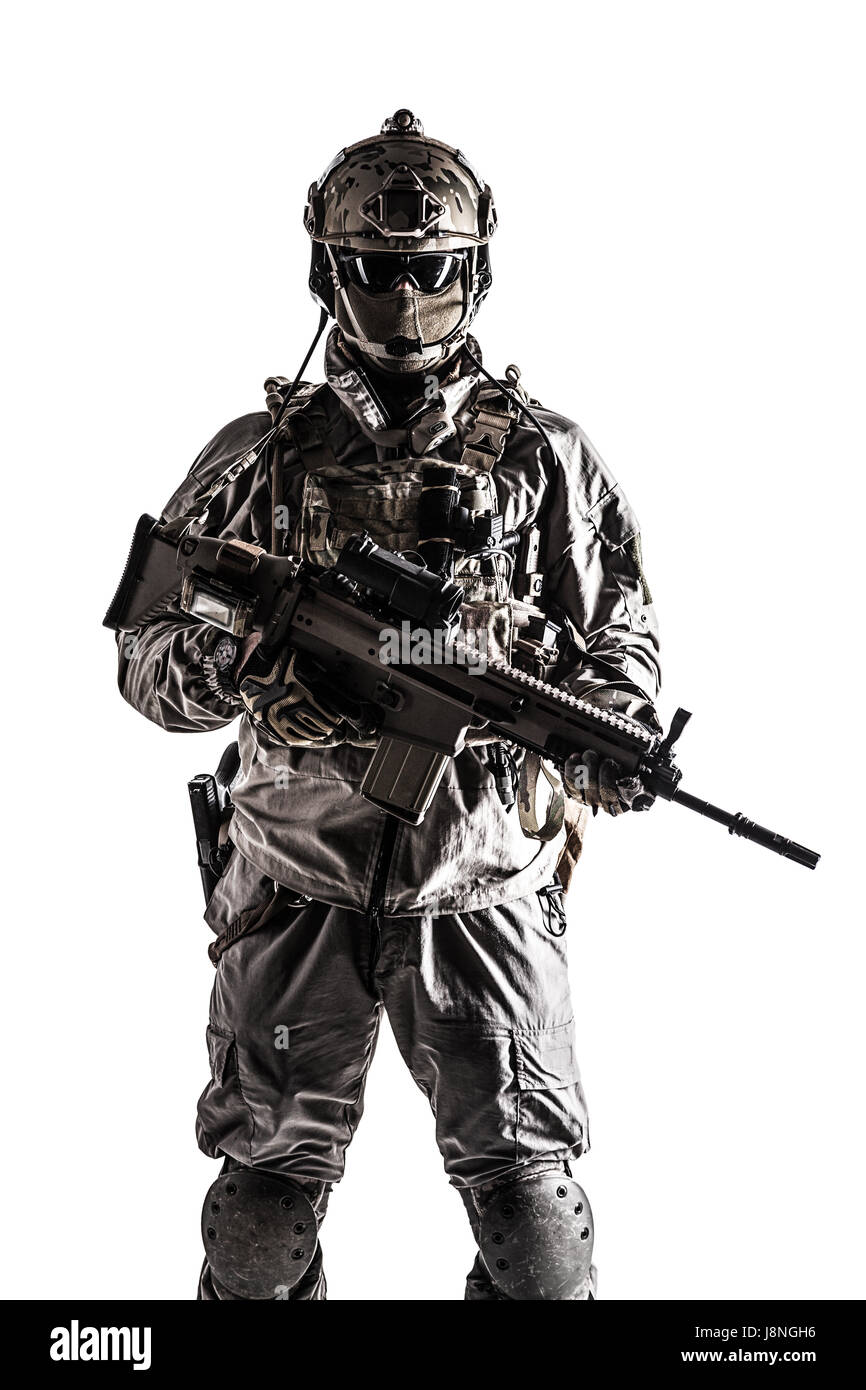Army soldier of Special Operations Forces - Stock Image