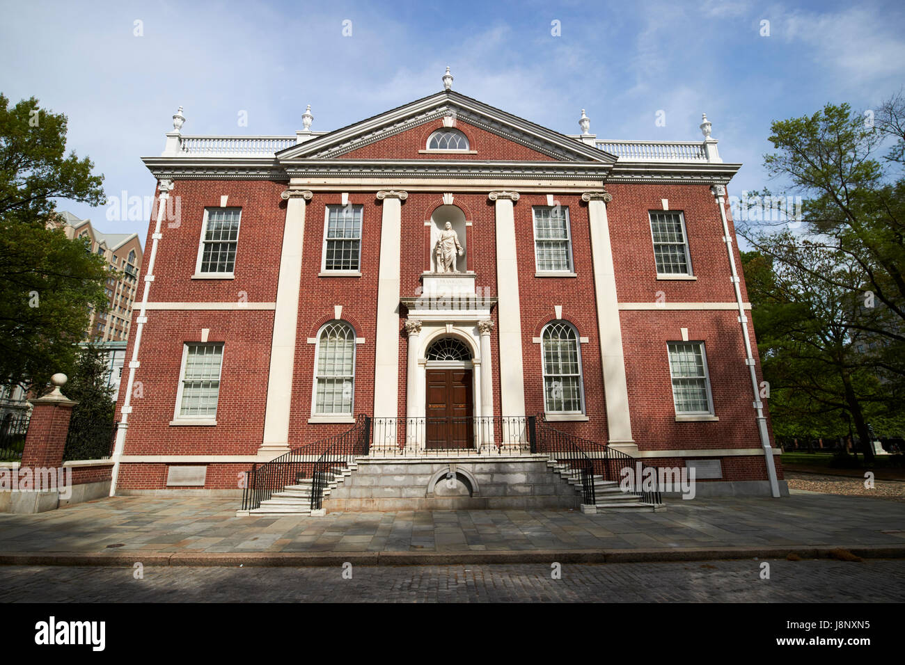 library hall old city Philadelphia USA - Stock Image