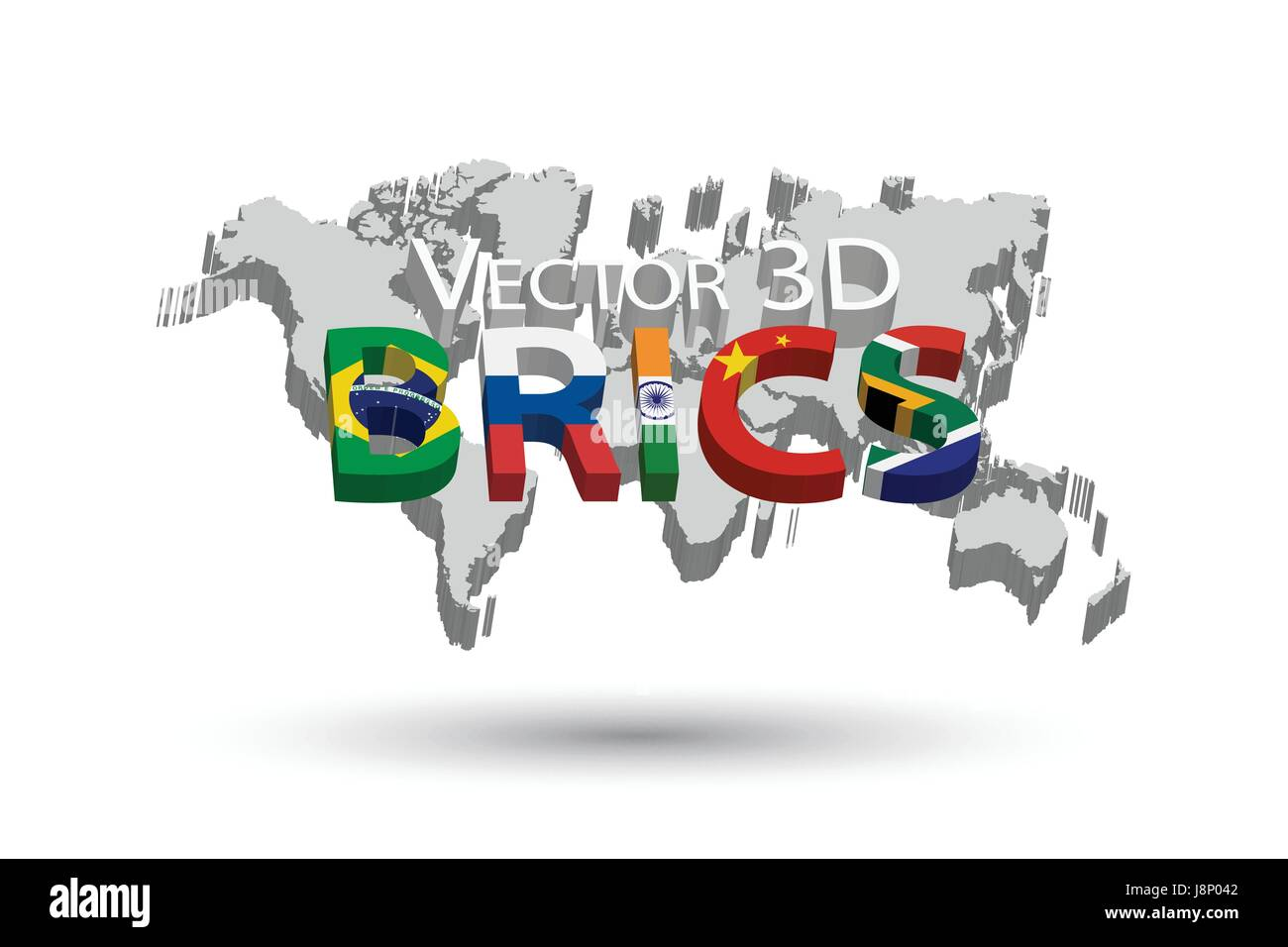 Brics and 3d world map association of 5 countries brazil brics and 3d world map association of 5 countries brazil russia india china south africa gumiabroncs Image collections