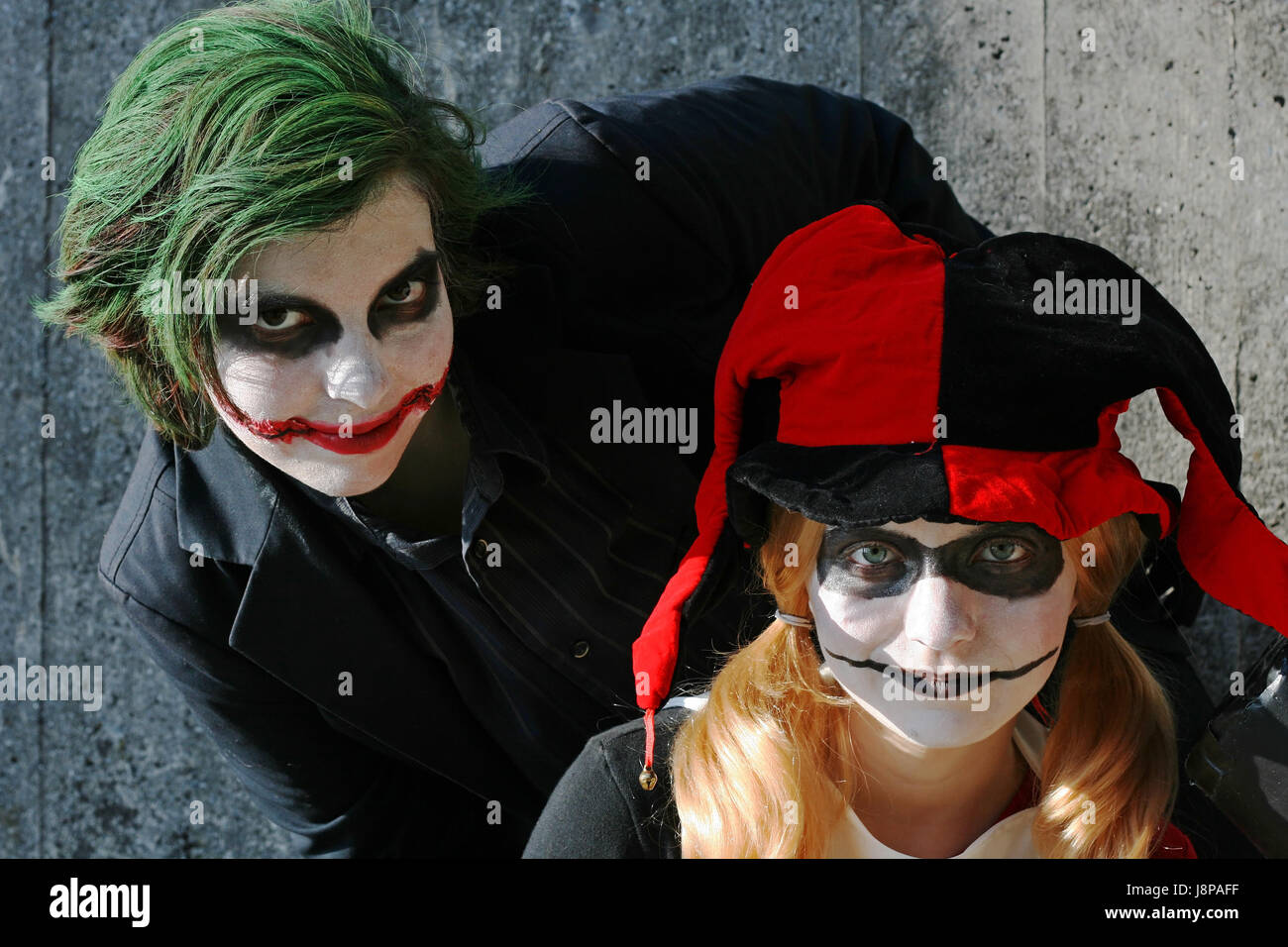Joker Heath Ledger Stock Photos & Joker Heath Ledger Stock