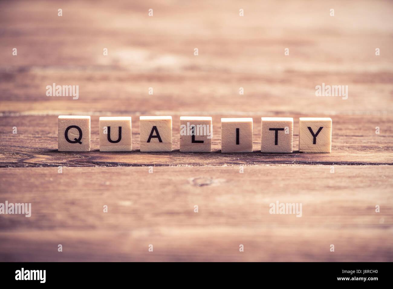 Improve company quality - Stock Image