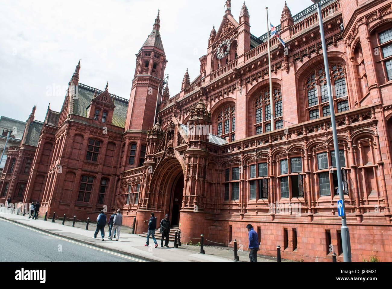 Birmingham Magistrates Court Building Stock Photo Alamy