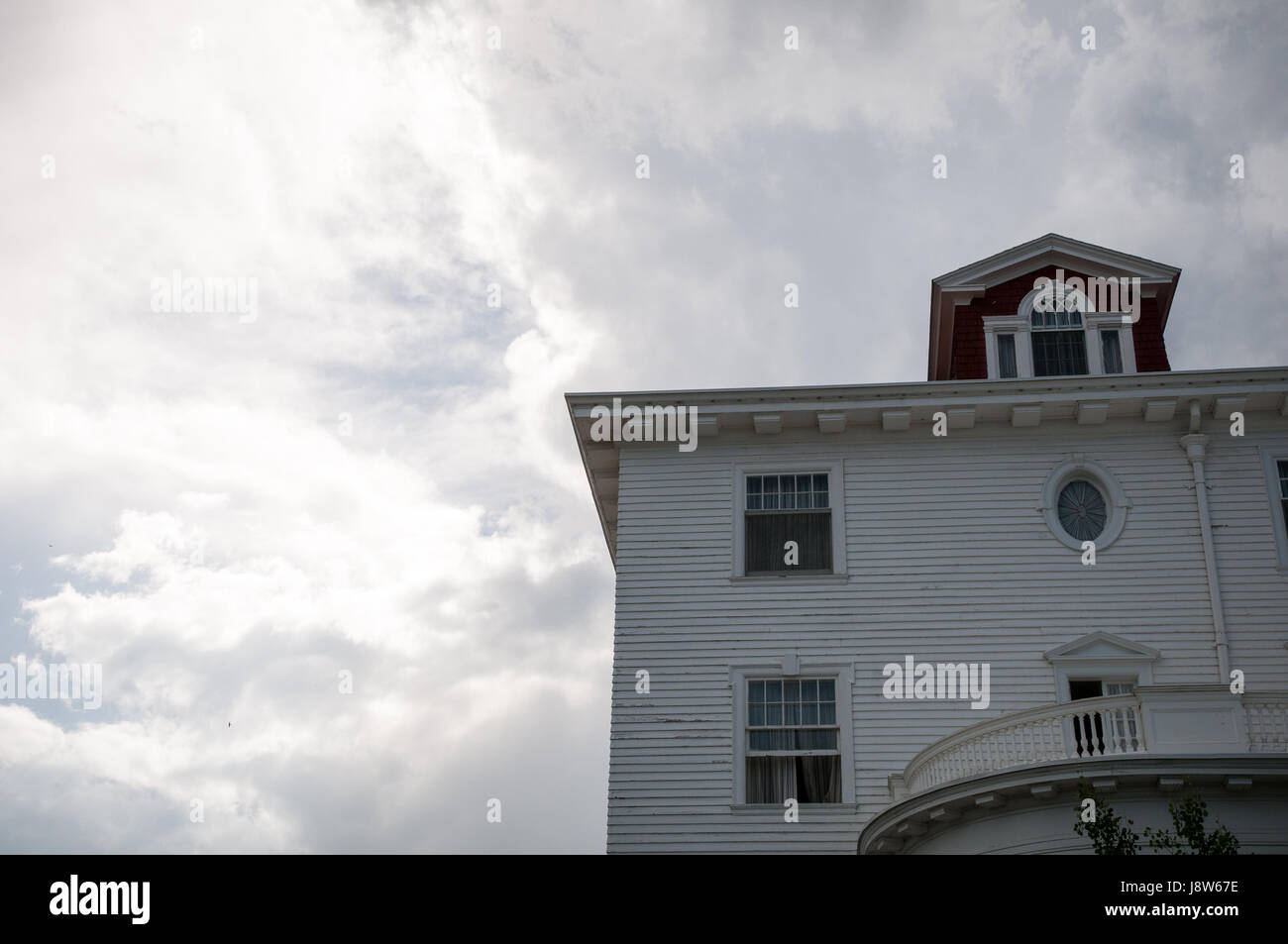 Stanley Hotel, Estes Park, Colorado, USA - Stock Image