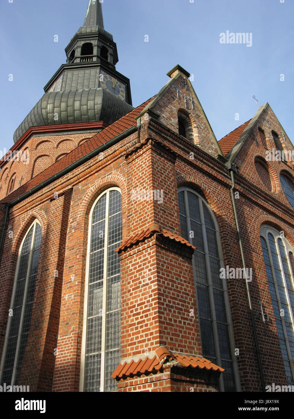 church of saints cosmas and damian,stade church in stade - Stock Image