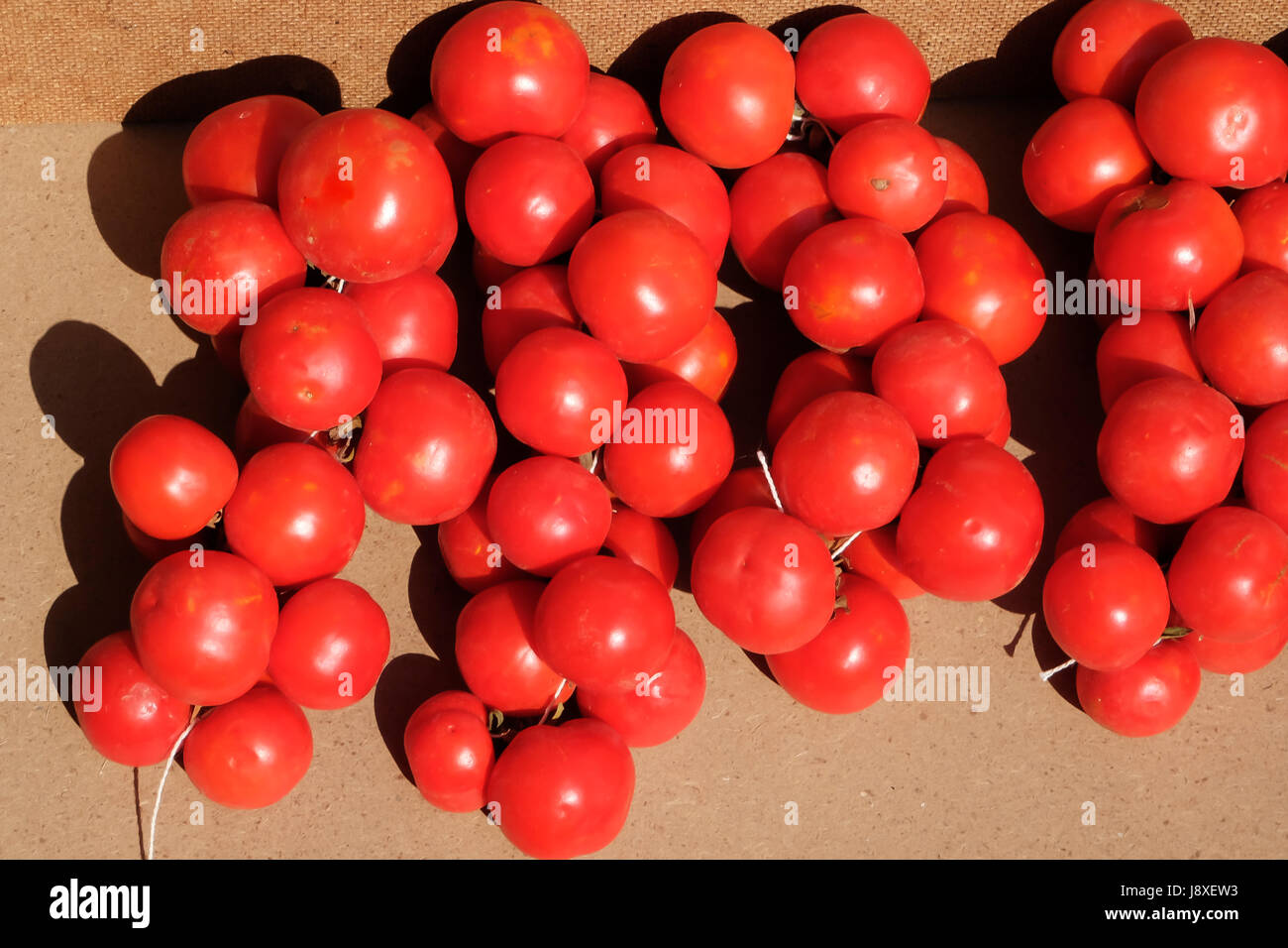 The Queen tomatoe of Torre Canne,Puglia,Italy,Europe. - Stock Image