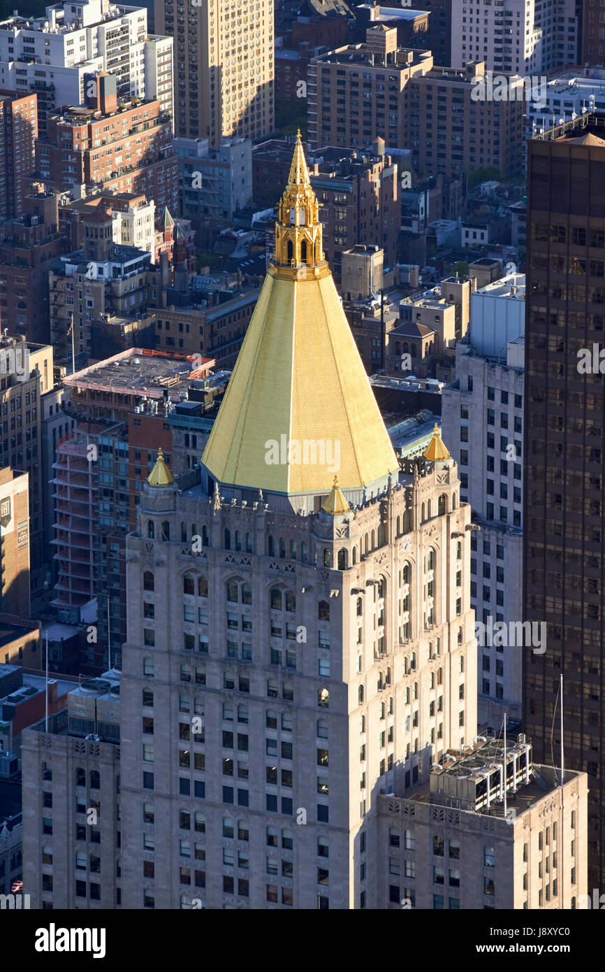 New York Life Building Pyramid Gilded Roof