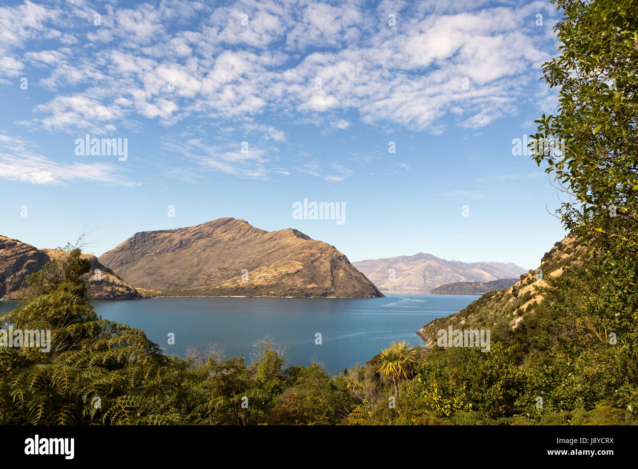 Mou Who Island New Zealand - Stock Image