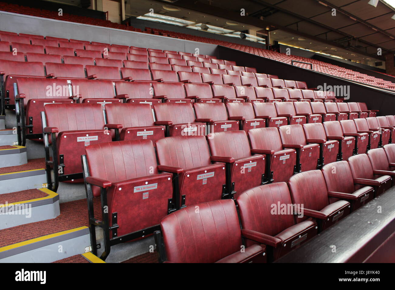 Manchester United stadium Stock Photo