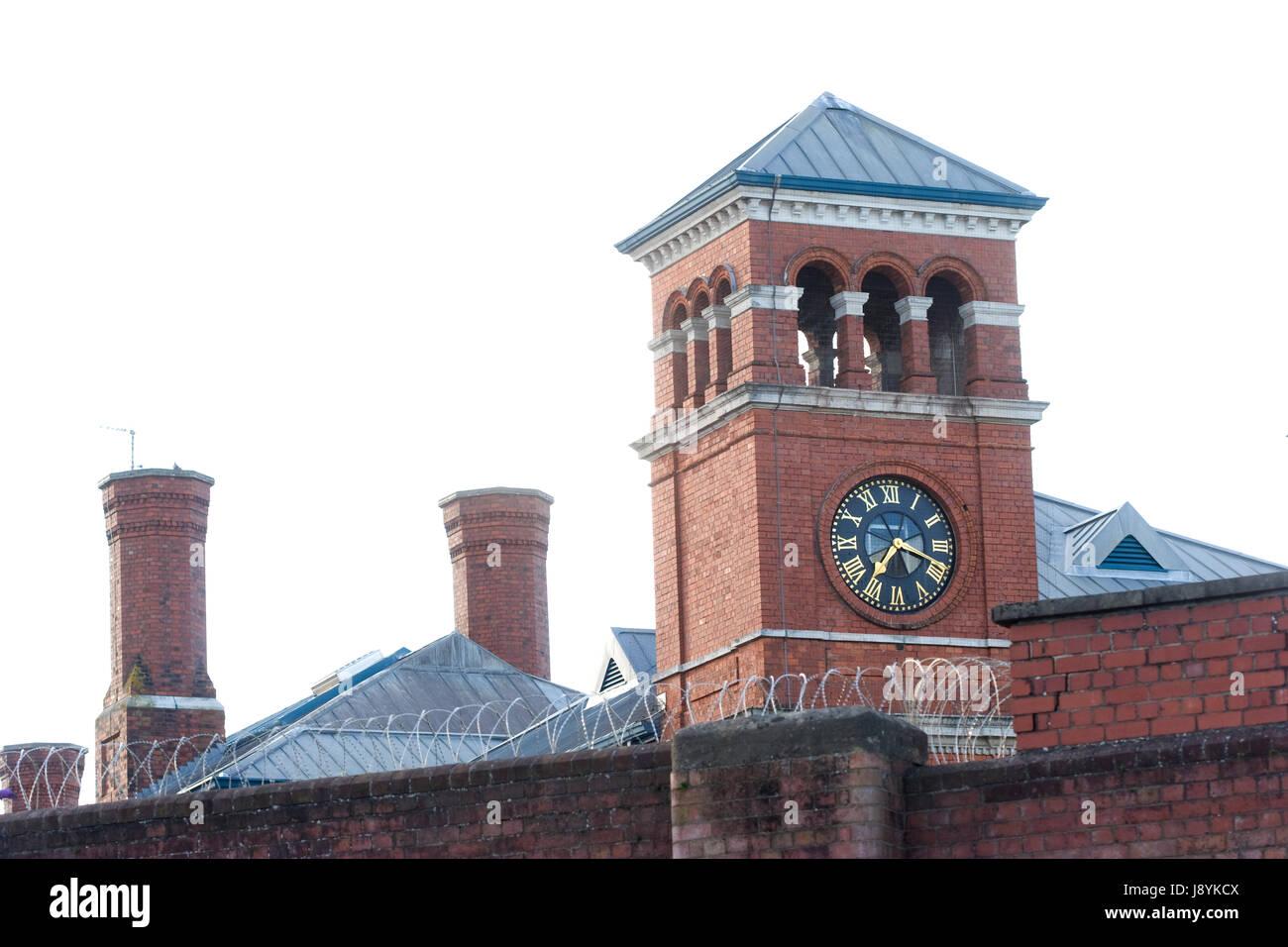 HM Prison Bristol, Horfield, Bristol - Stock Image