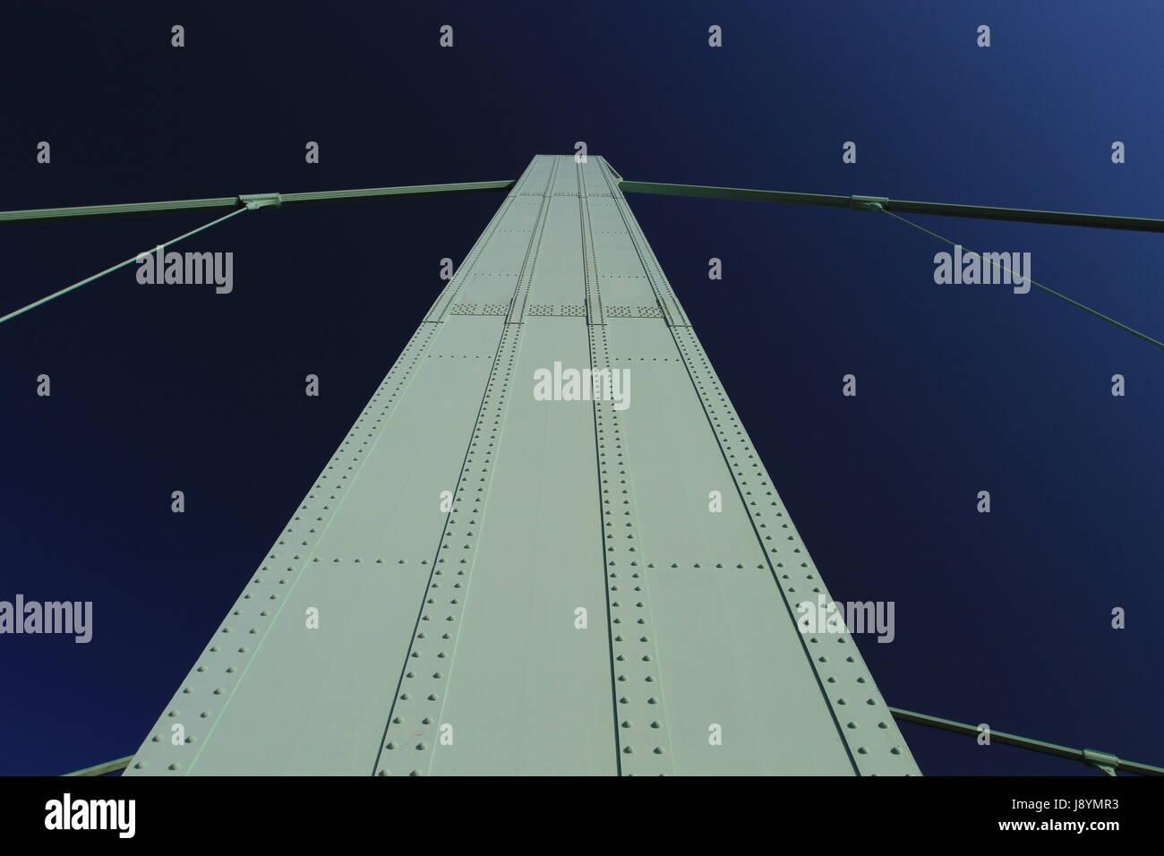 bridge abutment Stock Photo