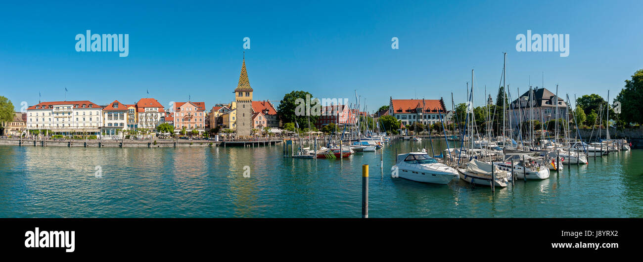 Lindau Bodensee, Germany, Europe Stock Photo