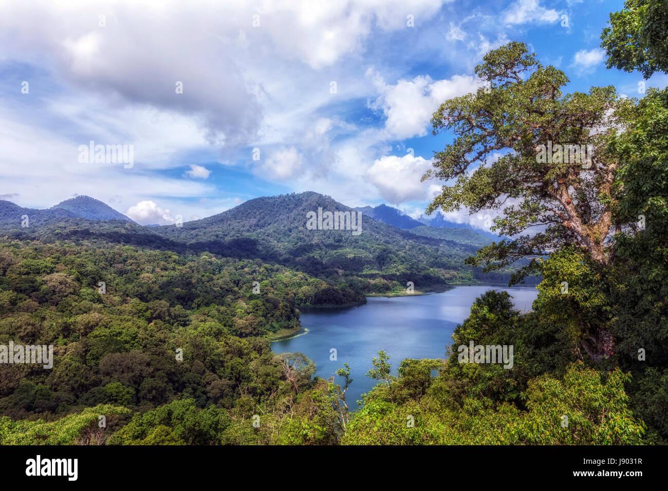 Lake Tamblingan, Bali, Indonesia - Stock Image