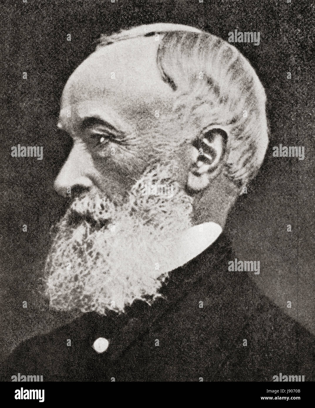 Alfred Krupp, born Alfried Felix Alwyn Krupp, 1812 - 1887. Member of the 400-year-old German dynasty from Essen, - Stock Image