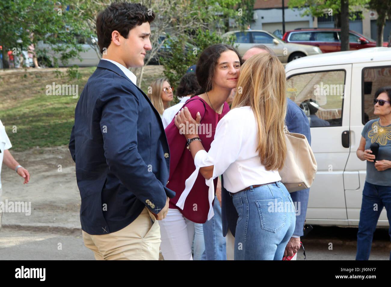 Felipe Juan Froilan and Victoria Federica Marichalar with ... Felipe Juan Froilan