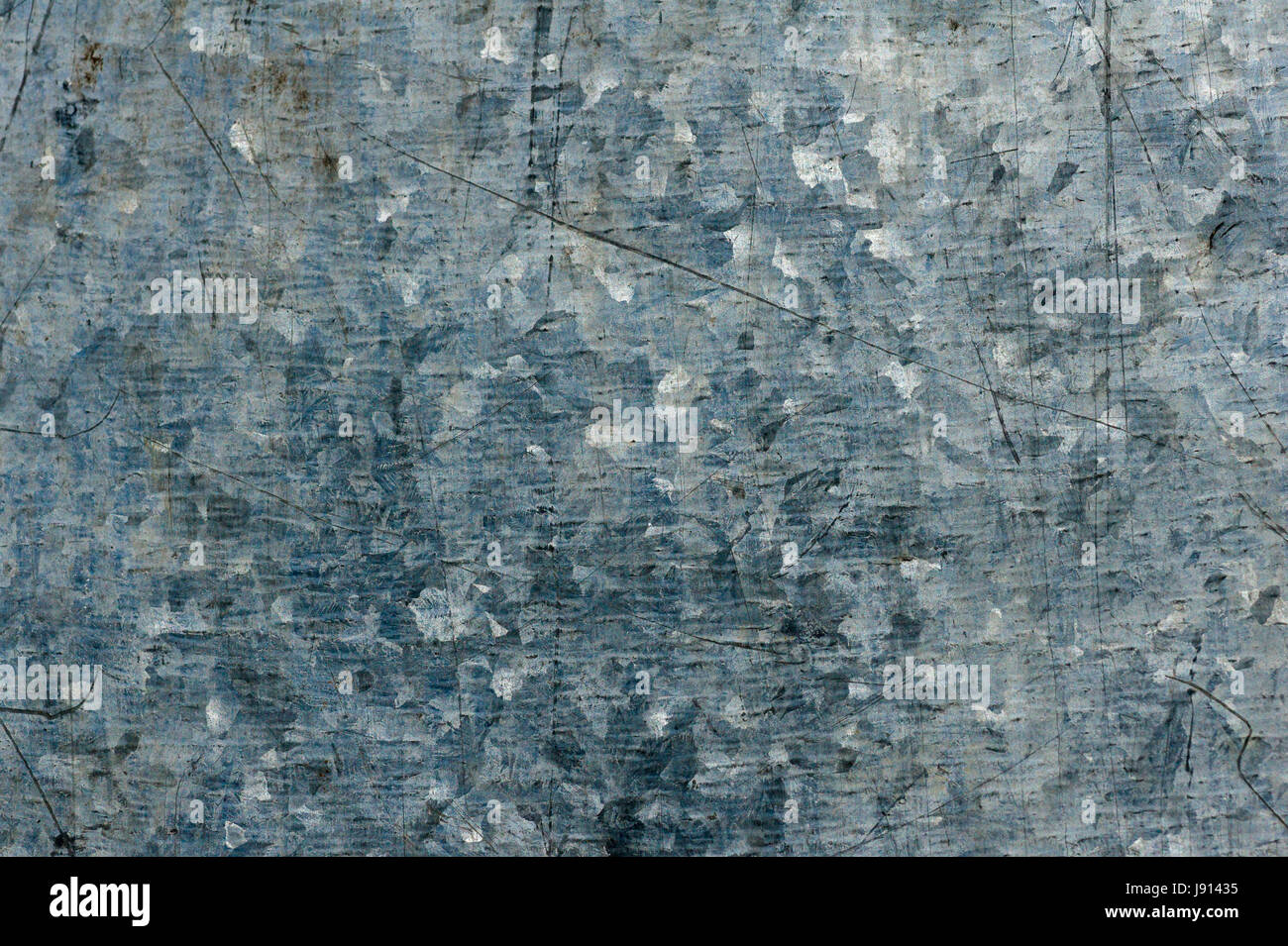 Surface made of galvanized metal. Industrial background. - Stock Image