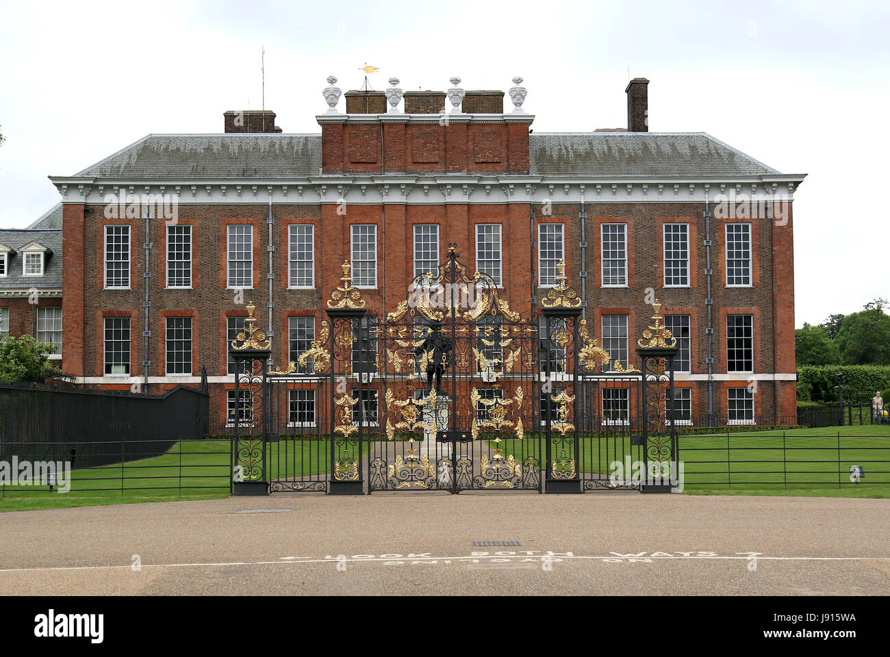 May 30, 2017 - Kensington Palace is a royal residence set in Kensington Gardens, in the Royal Borough of Kensington Stock Photo