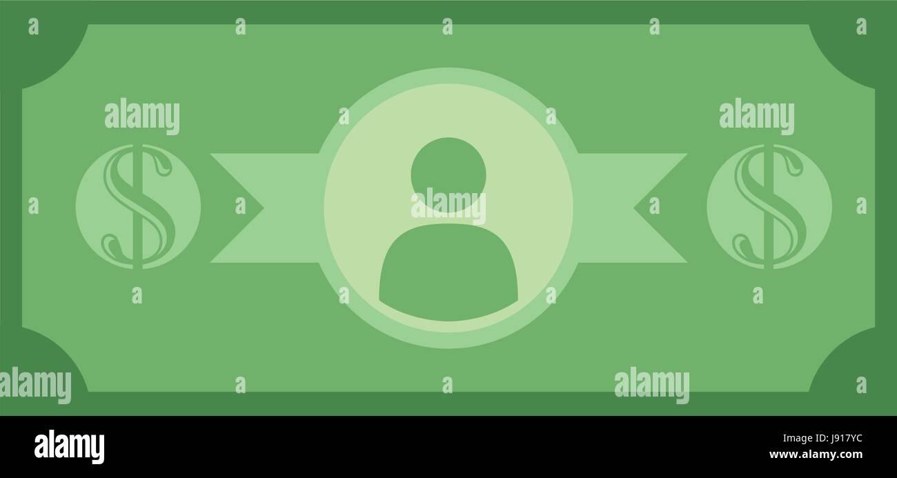 Billet of money - Stock Image