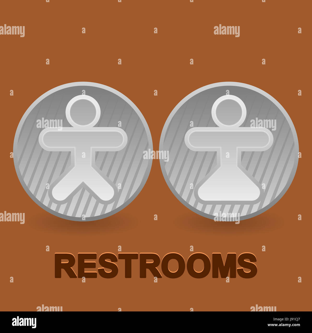 Female Male Masculine Toilet Sign Icon Bathroom Pictogram - Male bathroom sign
