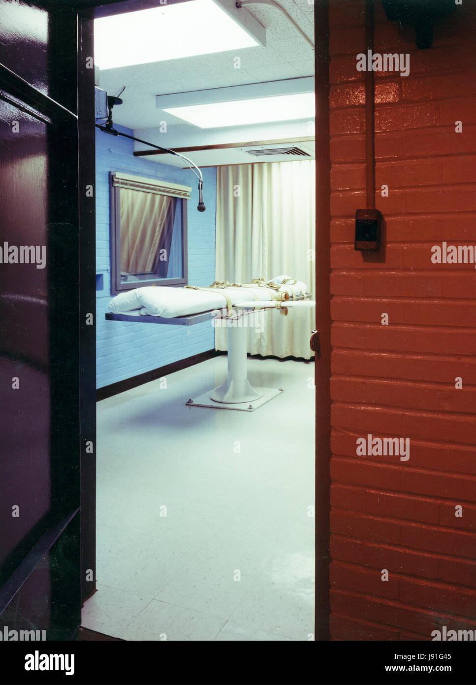 Death Row Cell Block, Texas - Stock Image