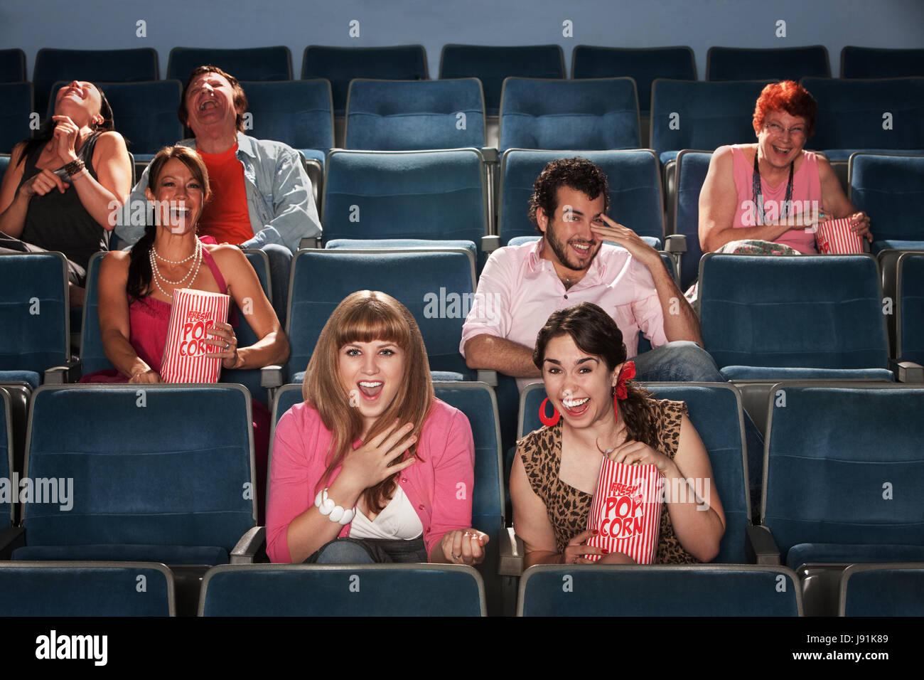 blank, european, caucasian, chairs, bags, crowd, casserole, corny, comedy, - Stock Image