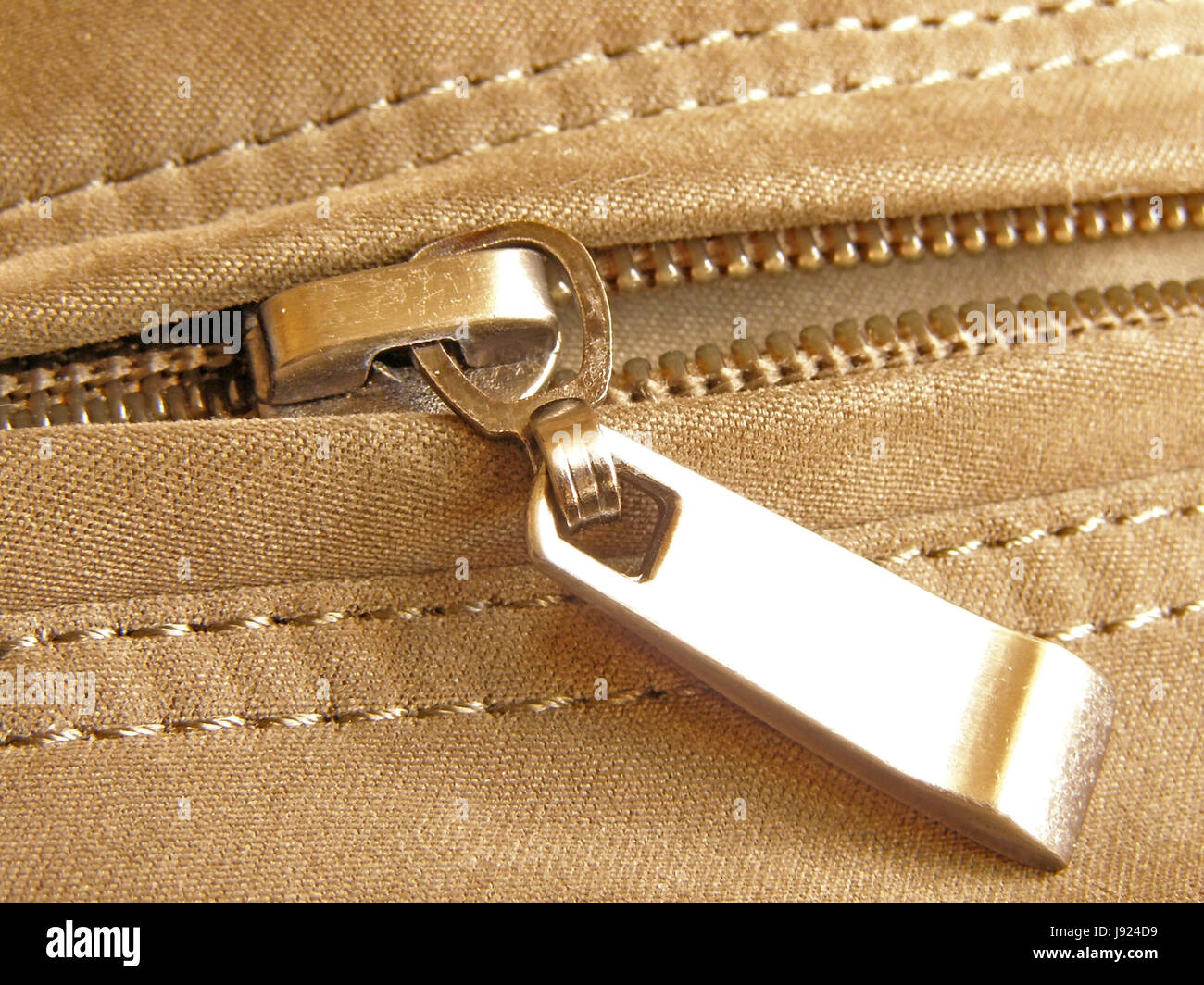 zippers, fashion, steel, metal, open, material, drug, anaesthetic, addictive - Stock Image