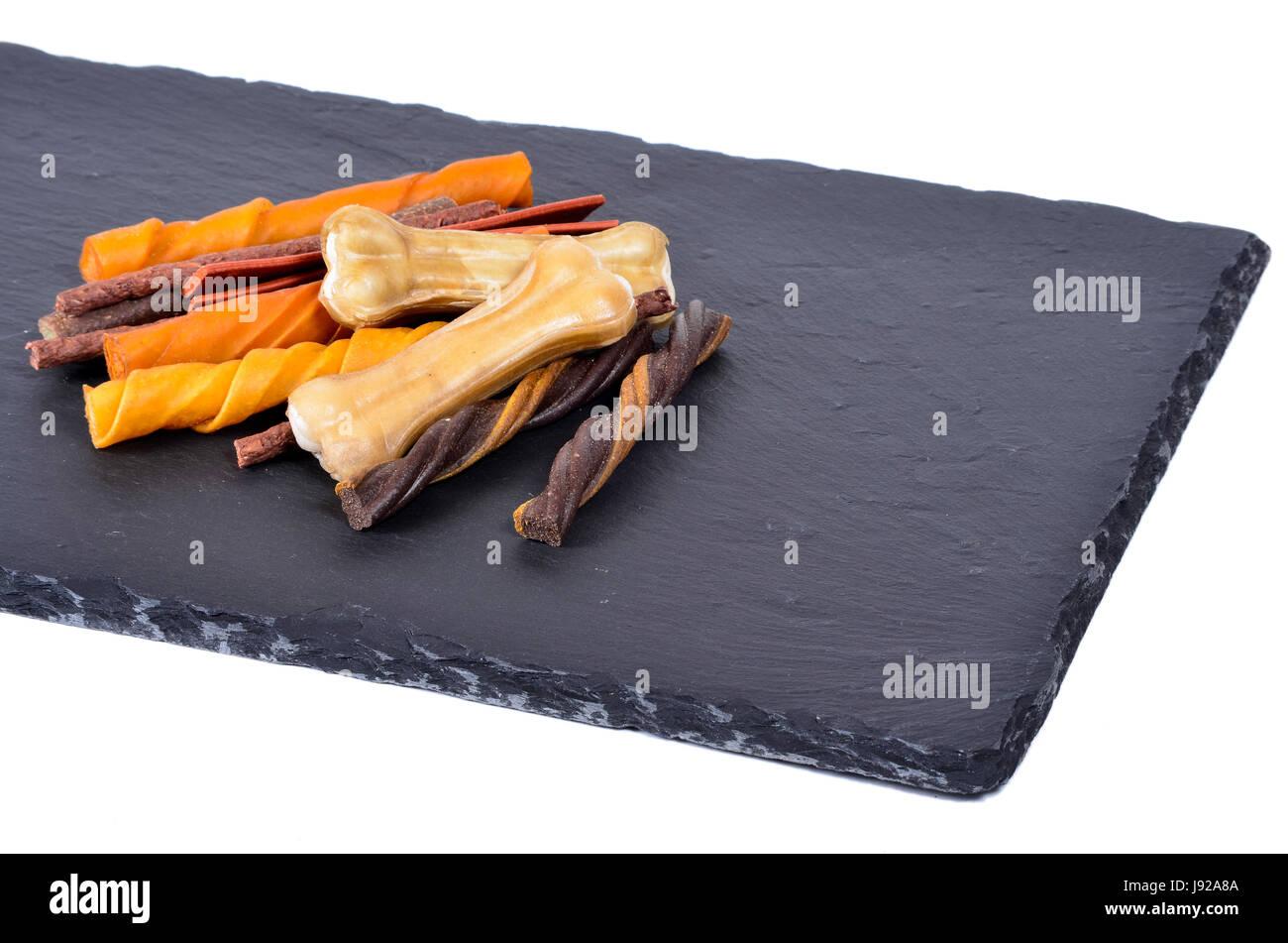 fodder, dog, black man, backdrop, background, herbs, food, aliment, health, - Stock Image
