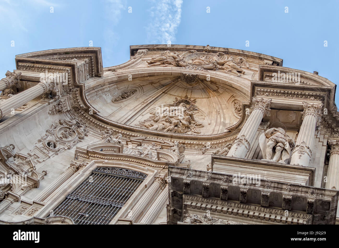 Catedral de Murcia, Cathedral of Murcia - Stock Image